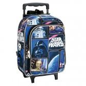 Mochila trolley de patín Star Wars espacio 37 CM - encuadernación