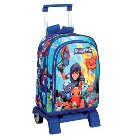 Backpack skateboard Slugterra 42 CM trolley premium - Binder