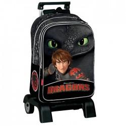 Mochila con ruedas Trolley escolar Dragons 43 CM - Bolsa