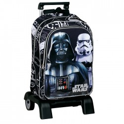 Sac à dos à roulettes Star Wars Shadow 43 CM trolley Haut de Gamme - Cartable