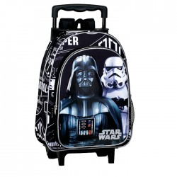 Sac à dos à roulettes maternelle Star Wars Shadow 37 CM trolley - Cartable