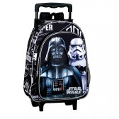 Sac à dos à roulettes maternelle Star Wars The Force 37 CM trolley - Cartable