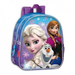 Frozen Snow 28 CM snow Queen Mother backpack