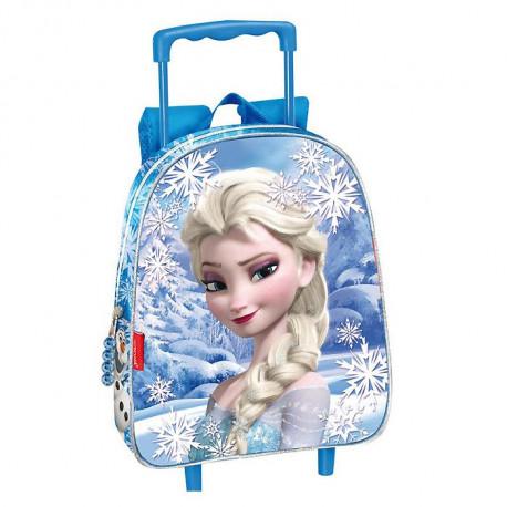 Sac à roulettes Frozen La reine des neiges Legend 28 CM maternelle