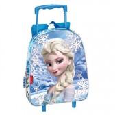 Bevroren sneeuw wielen legende 28 CM koningin-moeder travelbag