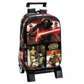 Sac à dos à roulettes Star Wars Legend 43 CM trolley Haut de Gamme - Cartable