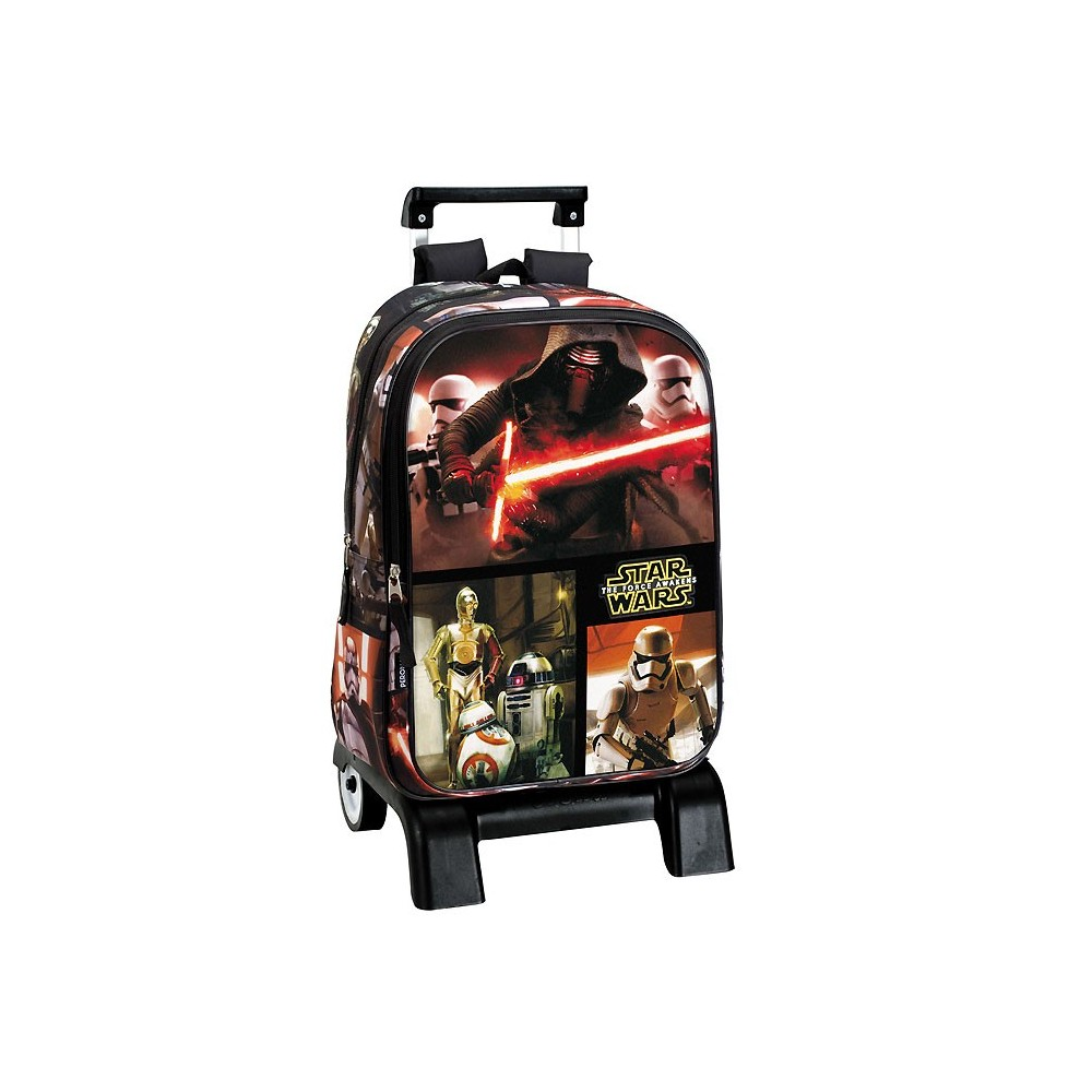 sac dos roulettes star wars legend 43 cm trolley haut de gamme. Black Bedroom Furniture Sets. Home Design Ideas