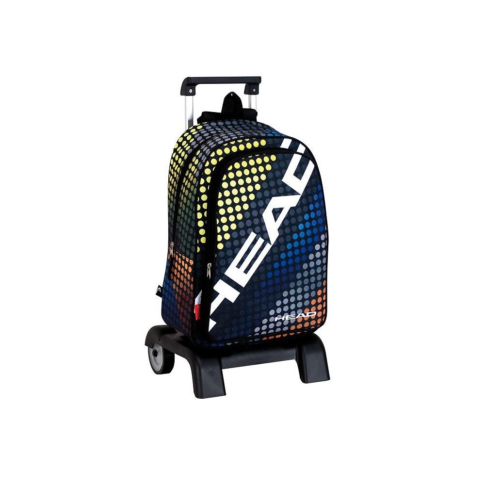 sac dos roulettes head game 42 cm trolley haut de gamme. Black Bedroom Furniture Sets. Home Design Ideas