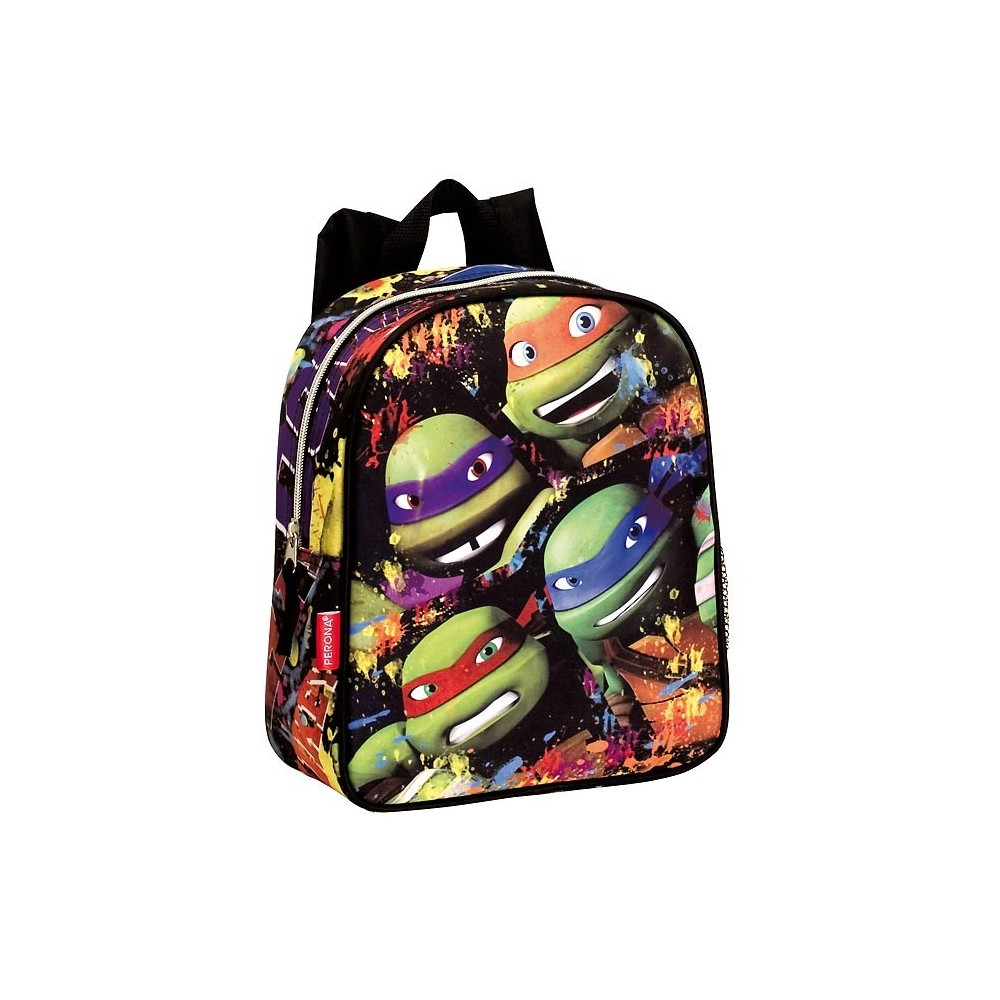 sac dos maternelle tortue ninja team 28 cm - Cartable Tortue Ninja