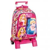 Sac à dos à roulettes Princesse Disney Stars 43 CM trolley Haut de Gamme - Cartable