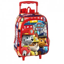 Backpack skateboard maternal Paw adventure 37 CM trolley - Binder Pat patrol Patrol