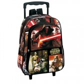 Sac à dos à roulettes maternelle Star Wars Legend 37 CM trolley - Cartable