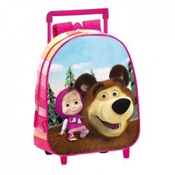 Masha and Michka 28 CM maternal trolley bag