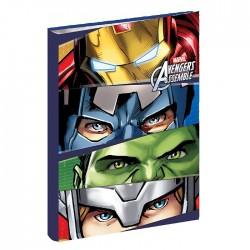 Libro A4 Avengers equipo 34 CM