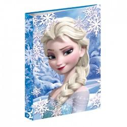 Classeur A4 Frozen La reine des neiges bleu 34 CM
