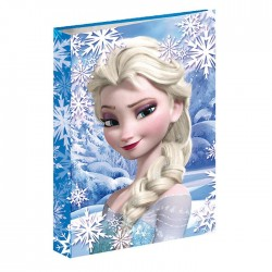 Workbook A4 Frozen blue snow 34 CM Queen