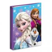 Workbook A4 Frozen blue snow 34 CM Queen