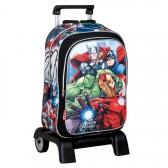 Sac à dos à roulettes Avengers Alliance 43 CM trolley Haut de Gamme - Cartable