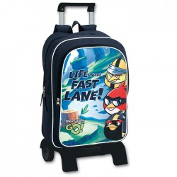 Backpack skateboard Angry Birds Go Fast 42 CM high - Binder