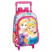 Sac à dos à roulettes maternelle Princesse Disney 37 CM trolley - Cartable
