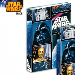 Workbook A4 Star Wars Space 34 CM