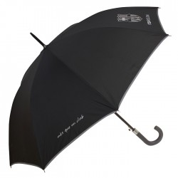Automatic umbrella FC Barcelona 105 CM - line grey