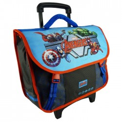 Rolling School Bag Avengers United 42 CM - Trolley