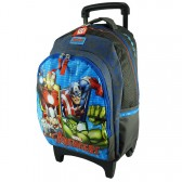 School bag 42 CM Avengers United high-end skateboard