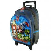 School bag 42 CM Avengers United high-end skateboard