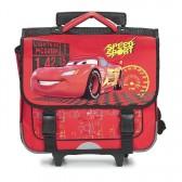 Cartable à roulettes Cars Speed 38 CM Haut de Gamme