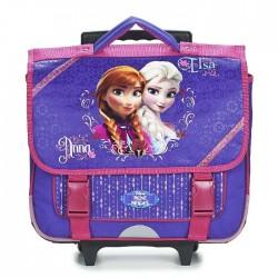 Bookbag skateboard Frozen the Queen of snow 38 CM purple