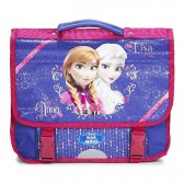 Cartable Frozen La reine des neiges 38 CM Violet