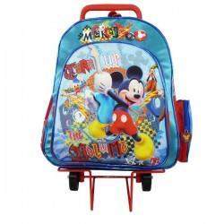 Cartable à roulettes Mickey Turn up 40 CM HAUT DE GAMME
