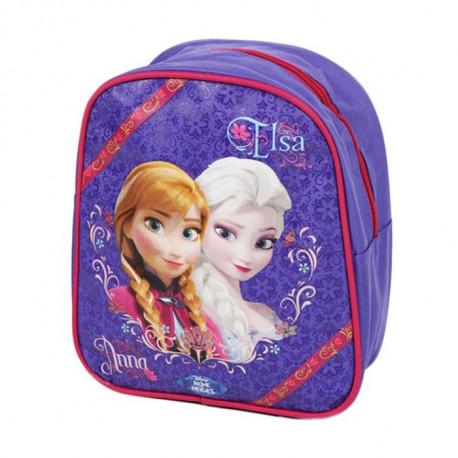 Sac à dos maternelle Frozen La reine des neiges 25 CM Violet