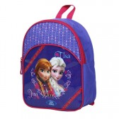 Sac à dos maternelle Frozen La reine des neiges 32 CM Violet