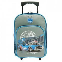 Hot Wheels trolley grey 40 CM wheeled travelbag