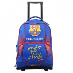 Backpack skateboard 48 CM FC Barcelona blue Xtrem top of range - 2 cpt - Binder