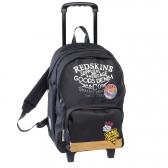 Sac à roulettes Redskins Factory Noir 45 CM Haut de gamme