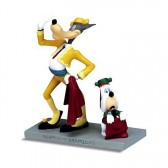 Figurine Le loup et Droopy