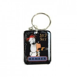 Keyring Droopy Jetset