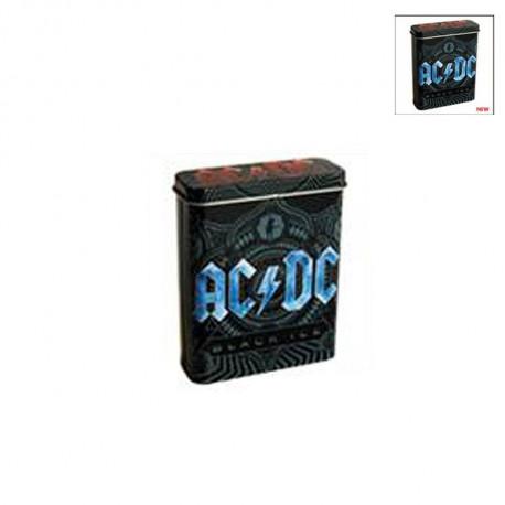 Etui à cigarette ACDC logo Bleu