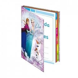 Agenda La reine des neiges Frozen 21 CM - Cahier de texte - Elsa et Anna