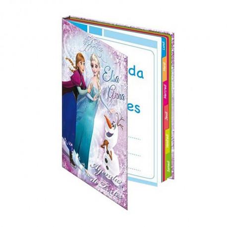 agenda la reine des neiges frozen cahier de texte elsa et anna. Black Bedroom Furniture Sets. Home Design Ideas