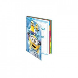 Agenda Minions blue - text specification