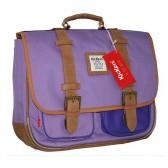 Cartable Kickers mauve et violet 38 CM