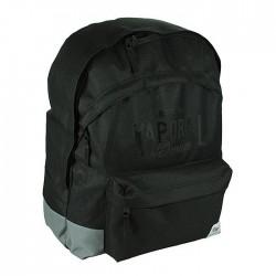 Milton Davis black 45 CM - 2 Cpt backpack