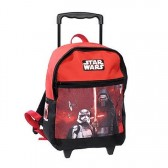 Sac à roulettes Star Wars The Force 38 CM rouge - Cartable