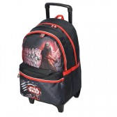 Sac à roulettes 45 CM Star Wars The Force Haut de gamme - Cartable