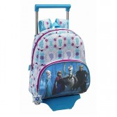Sac à roulettes Frozen La reine des neiges Friends 33 CM maternelle - Cartable