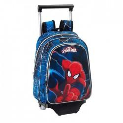 Sac à roulettes Spiderman Ultimate 34 CM maternelle Haut de gamme - Cartable